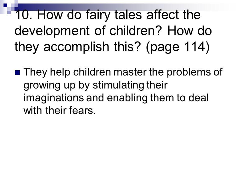 How do fairy tales affect children?