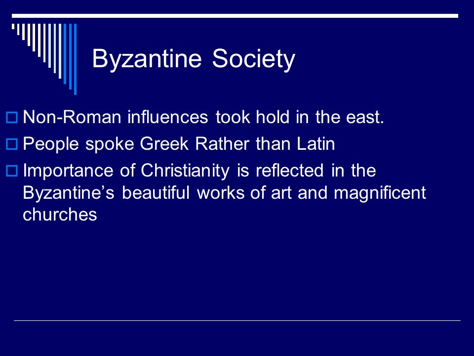 Importance of Christianity in society?