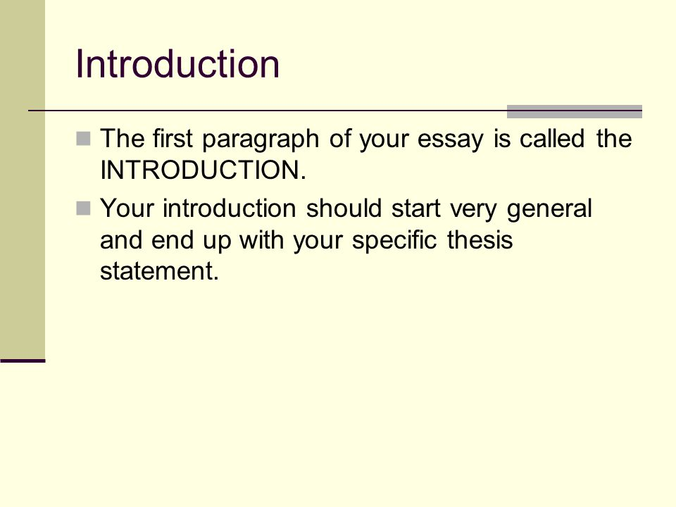 "rules of an essay introduction Structure of a personal narrative essay introduction: begin your paper with a ""hook"" that catches the reader's attention and set the scene."