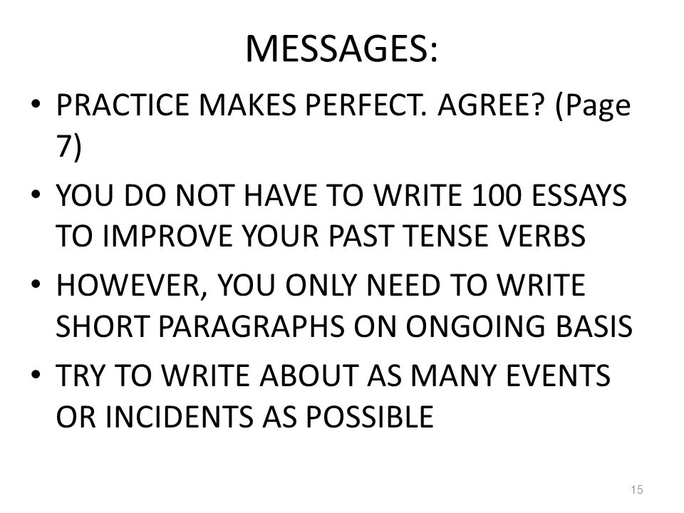 practice makes a man perfect essay for kids