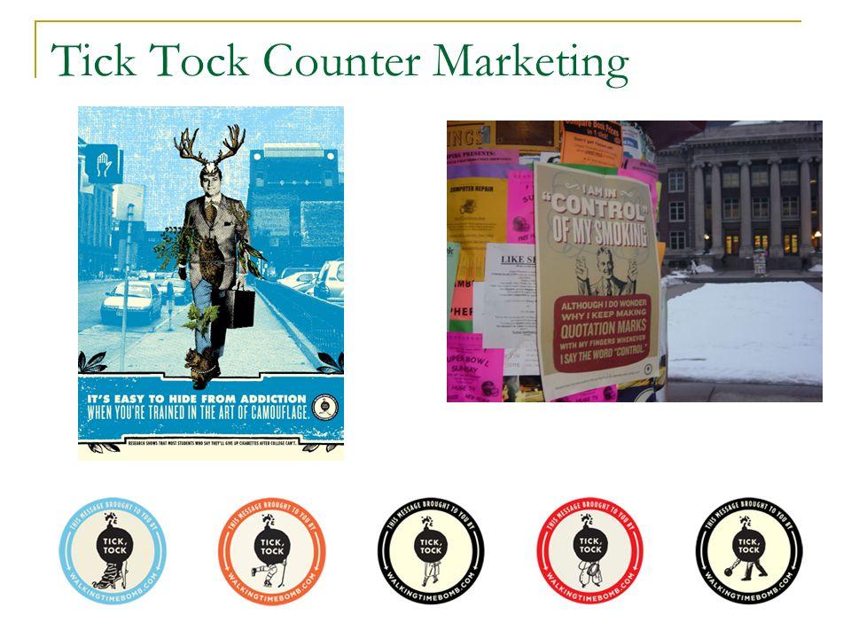 Tick Tock Counter Marketing