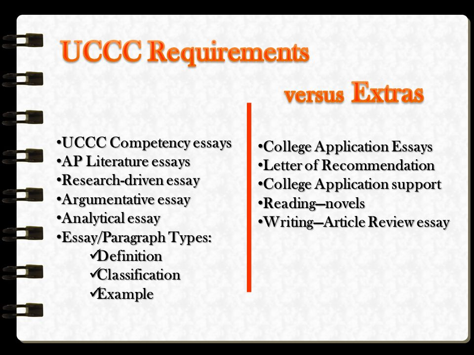 english anne casey english english your child  6 uccc competency essays