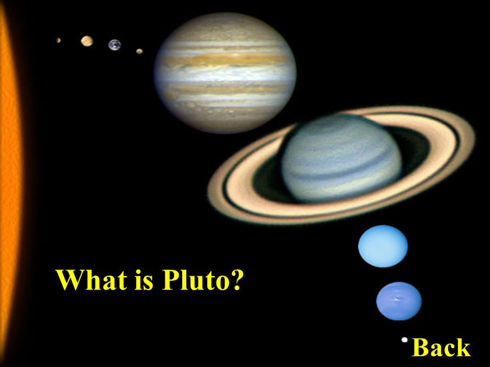 What is Pluto Back