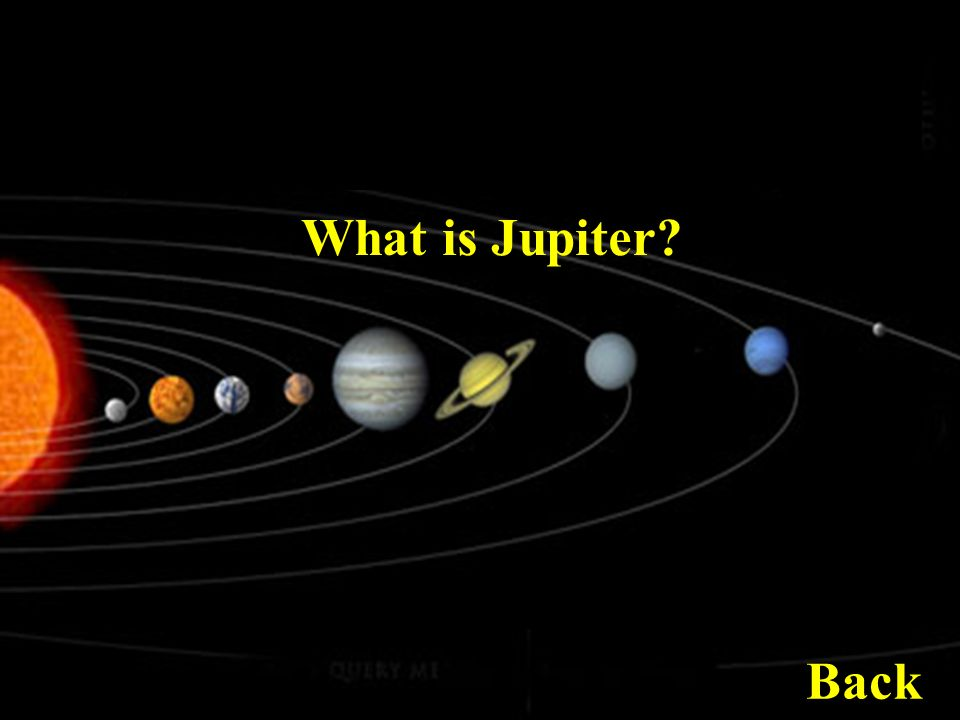 What is Jupiter Back