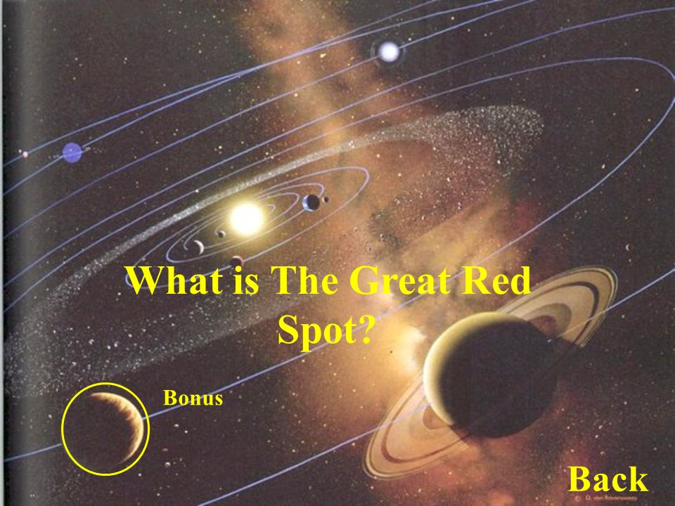 What is the Great Red Spot What is The Great Red Spot Bonus Back