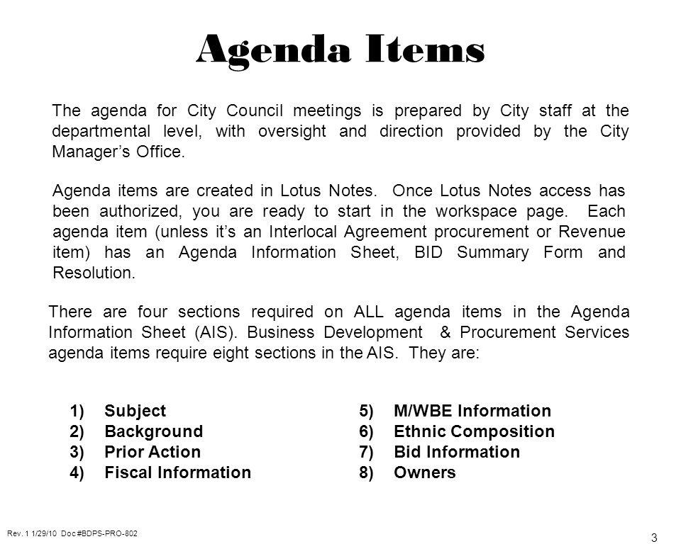 Agenda item business development and procurement services 3fn 1500 3 3 platinumwayz