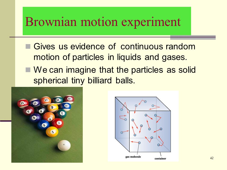 9/8/ Assumptions Point molecules.