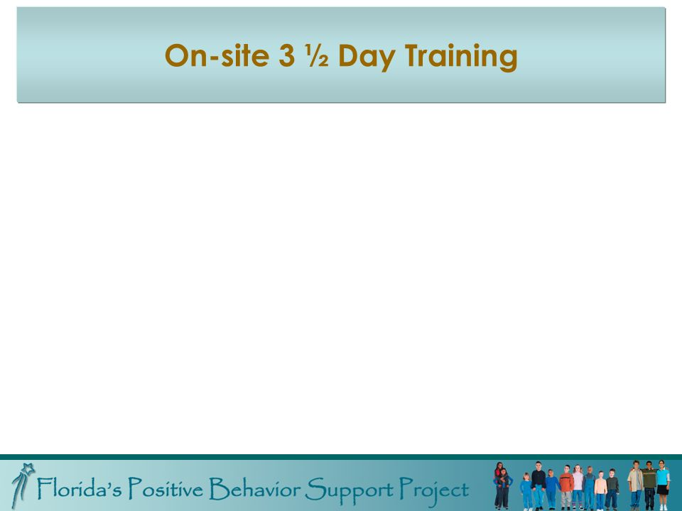 On-site 3 ½ Day Training