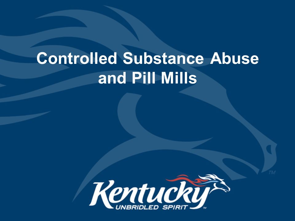 4 Controlled Substance ...