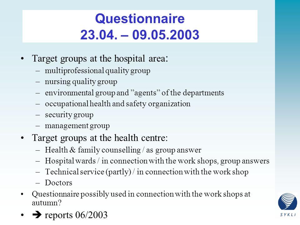 Questionnaire 23.04.