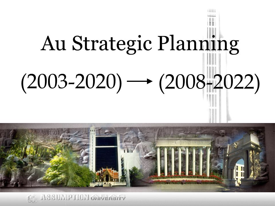 ( ) Au Strategic Planning ( )