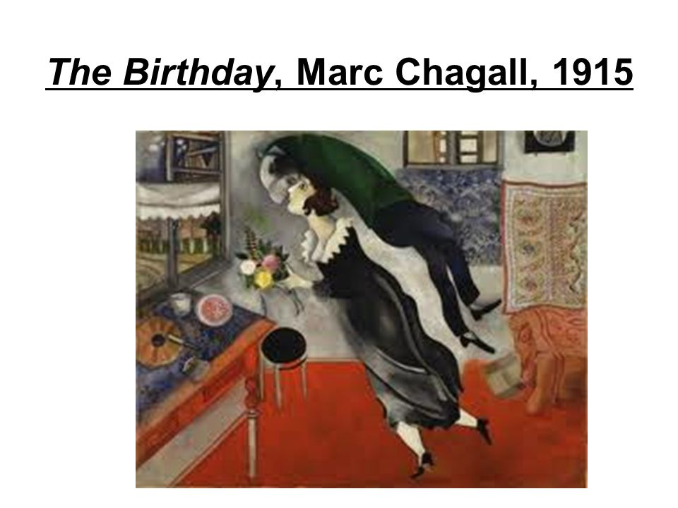 The Birthday, Marc Chagall, 1915