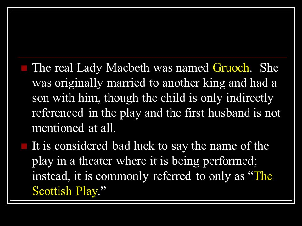 is lady macbeth the real driving Macbeths state of mind after the how does shakespeare create a sense of unease in act 1 of macbeth is lady macbeth the real driving force behind the murder of.