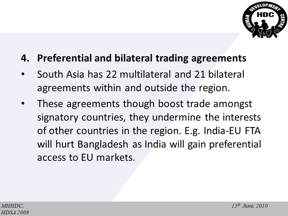 Copyright wondershare software regional trade in south asia umer preferential and bilateral trading agreements south asia has 22 multilateral platinumwayz