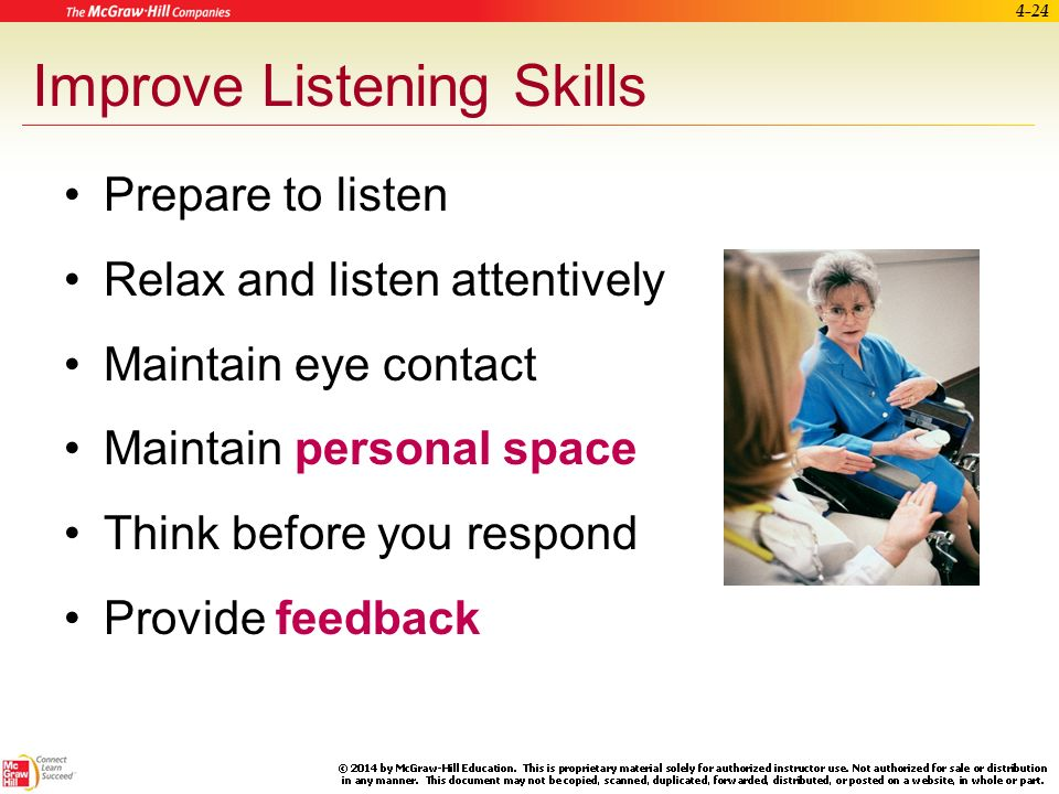 Passive Listening Examples