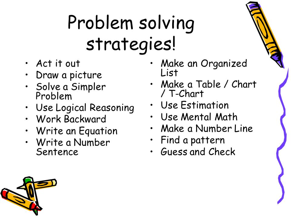 Logical reasoning and problem solving