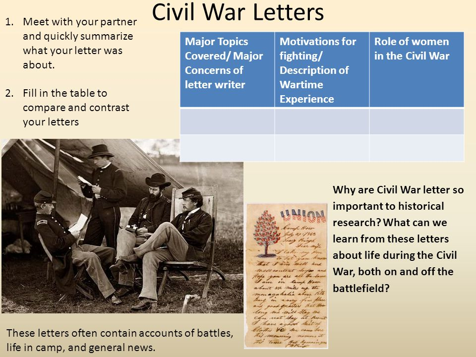 family life during civil war essay Civil war essay the american civil medical practices of the civil war the medical practices used during the civil war era were not very savage life of a.