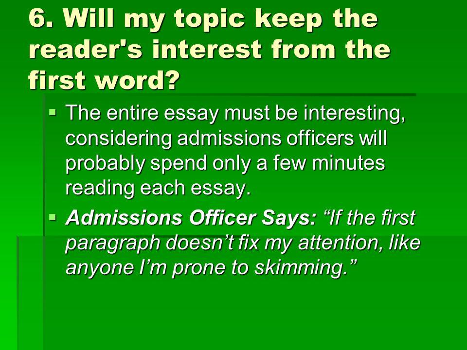 My Essay Writing