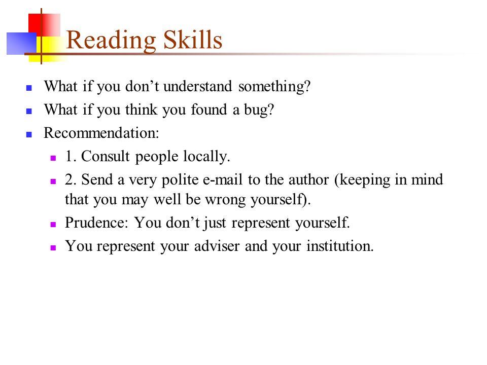 reading skills 3 essay