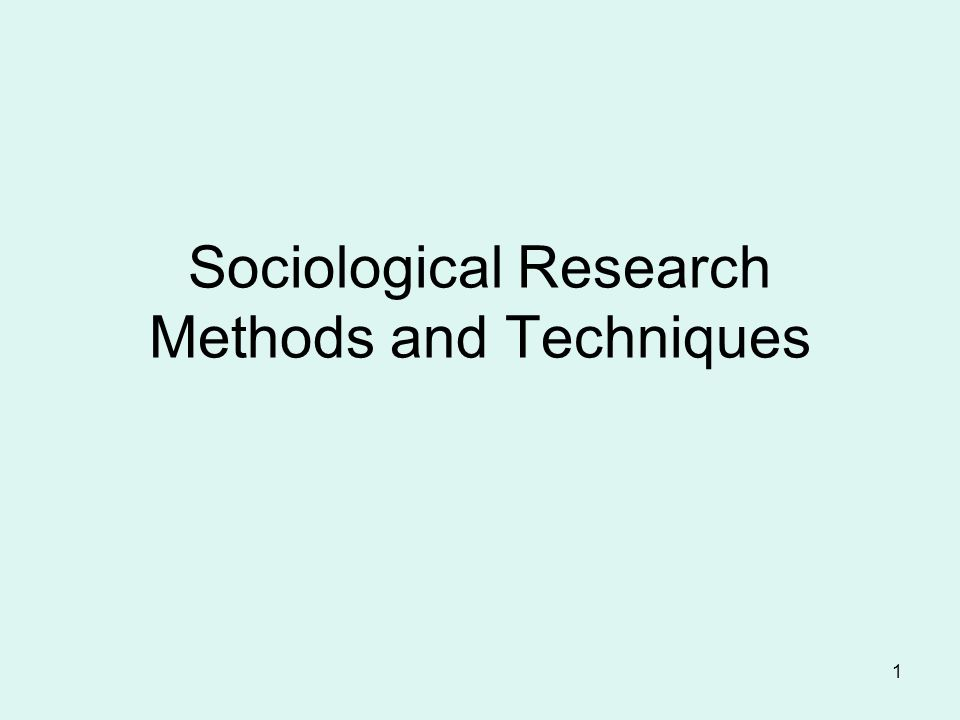 What is a good sociological research topic?