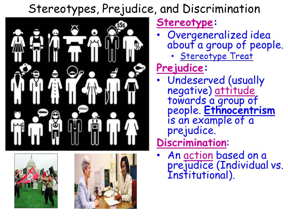 prejudice examples prejudice A summary of stereotypes and prejudice in 's social psychology learn exactly what happened in this chapter, scene, or section of social psychology and what it means.