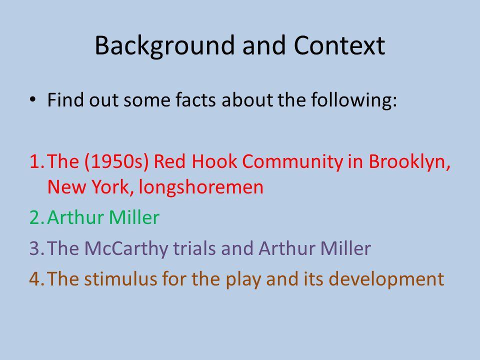 Dissertation Background Context