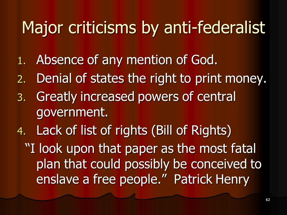 Federalists Essays