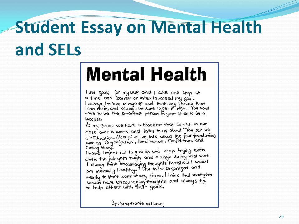 mental health essay   dako group