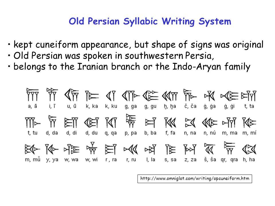 persian writing