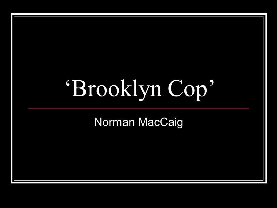 brooklyn cop essay help