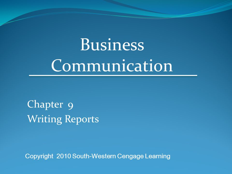 communication and business essay