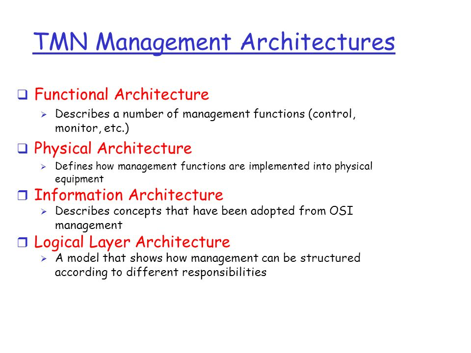 describe functions of management