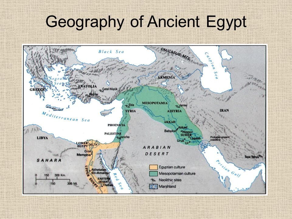geography of ancient egyptian Mr richey gives a quick introduction to the geography of ancient egypt, discussing the importance of the nile river and revealing t.