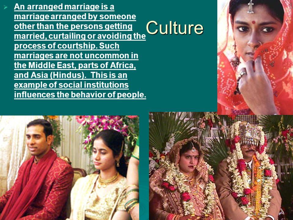unarranged marriage