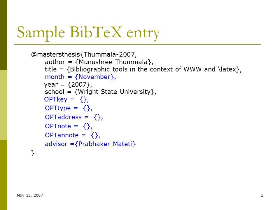 Master thesis bibtex