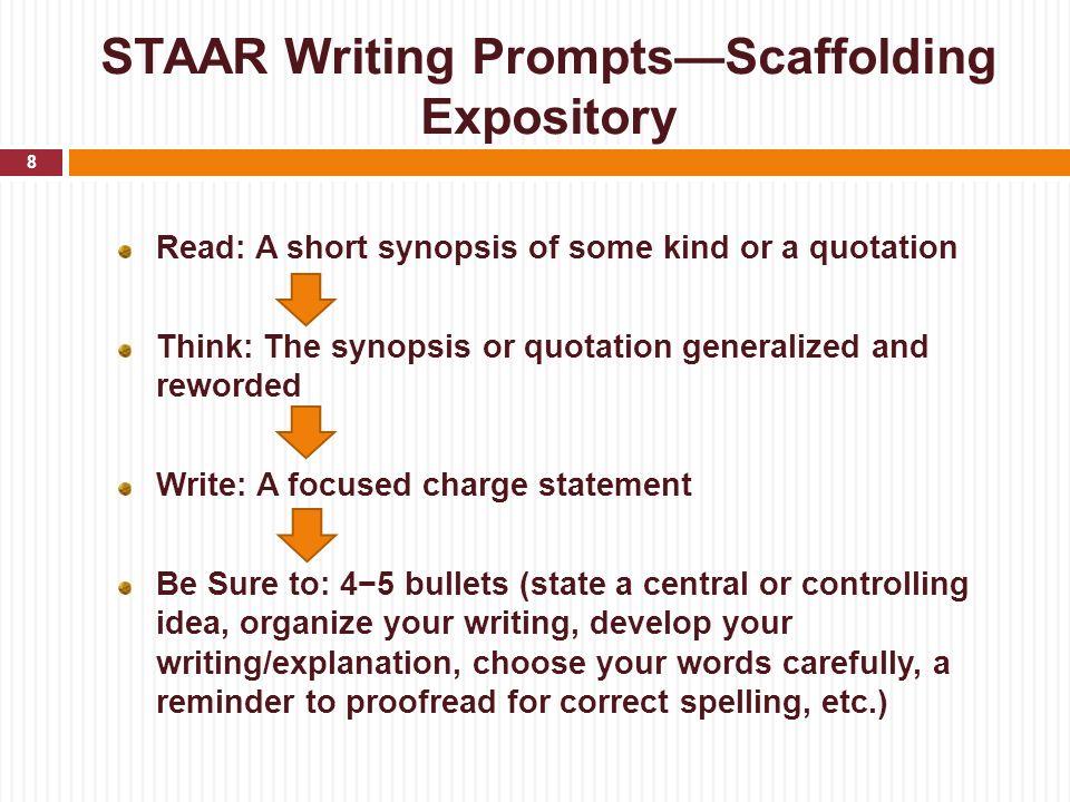 Staar writing paper