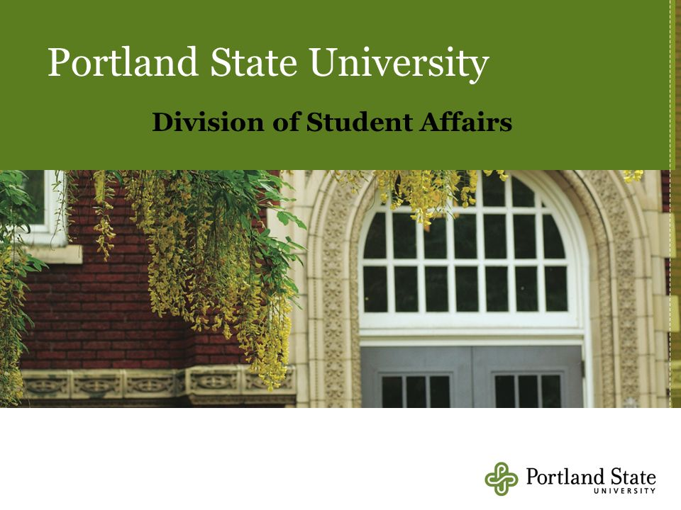 Portland State University Division of Student Affairs