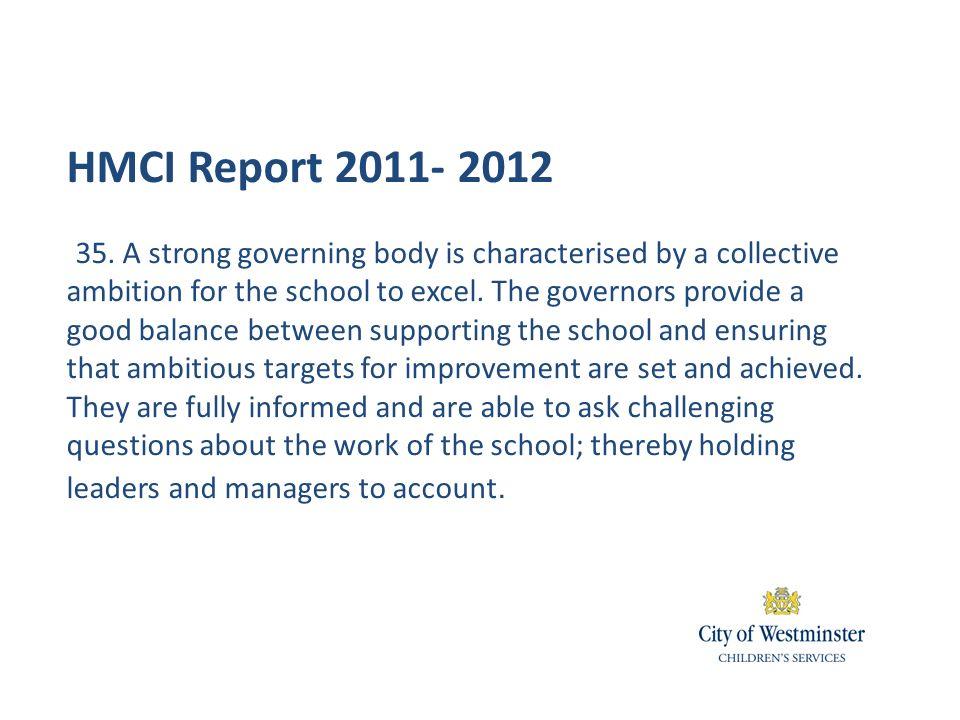 HMCI Report 2011- 2012 35.