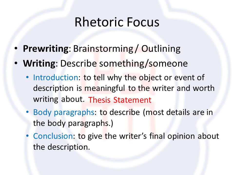 unit descriptive essays review what is a descriptive essay  rhetoric focus prewriting brainstorming outlining writing describe something someone introduction to