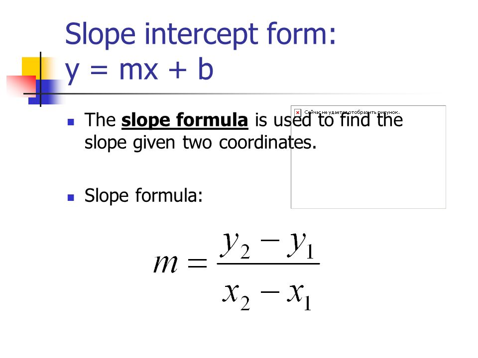 slope intercept formula to determine the annual increase essay Use the slope-intercept formula to determine annual increase in vacant rooms at hotels during the fall and winter months coefficients 31442.