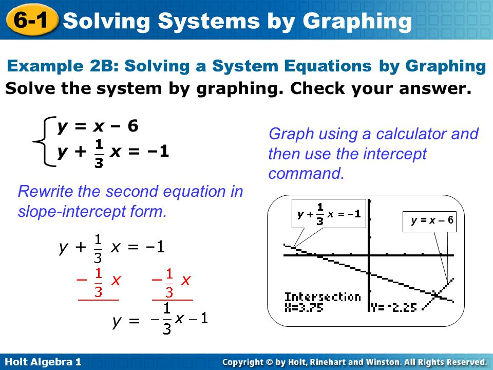 3 1 Solving Systems Of Equations By Graphing Answers Tessshebaylo – Solve Systems of Equations by Graphing Worksheet