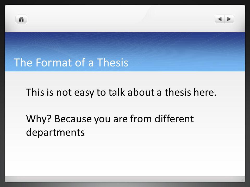 Dissertation Margins