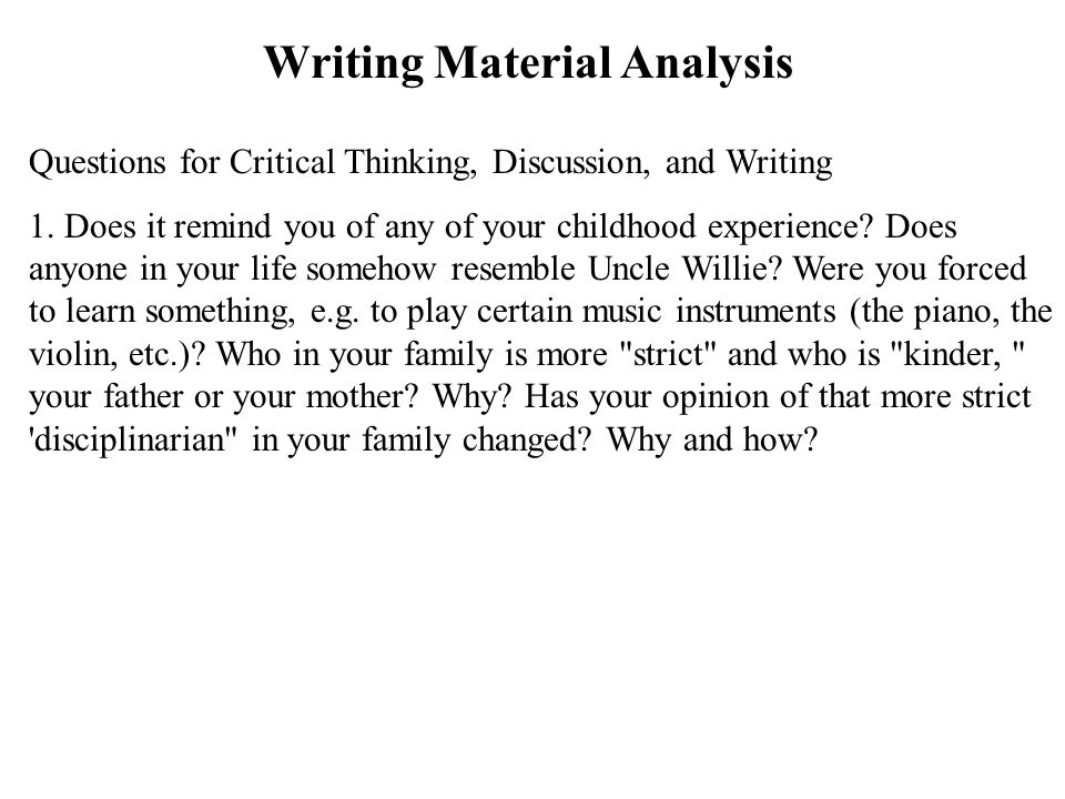 writing an essay about your family This method of writing can be particularly useful when writing an essay on family, because it introduces the readers to your family members in a way they can relate to determine what you want the message behind your family essay to be undoubtedly, there are many topics you could explore within your family.