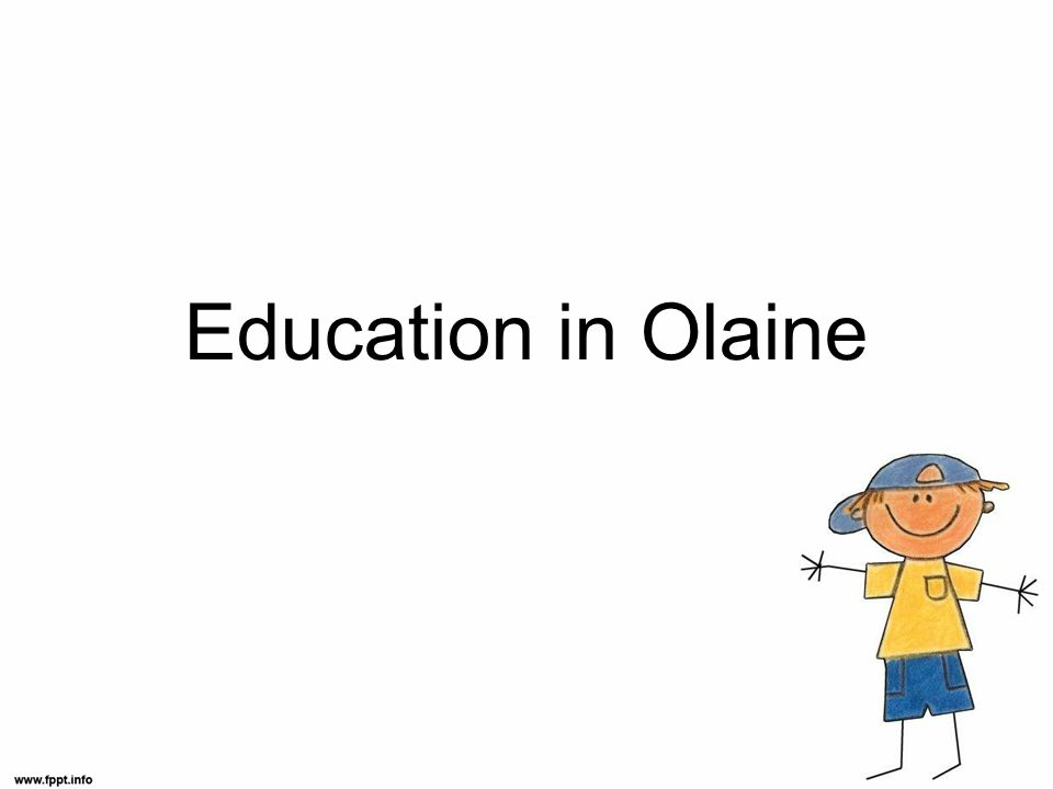 Education in Olaine