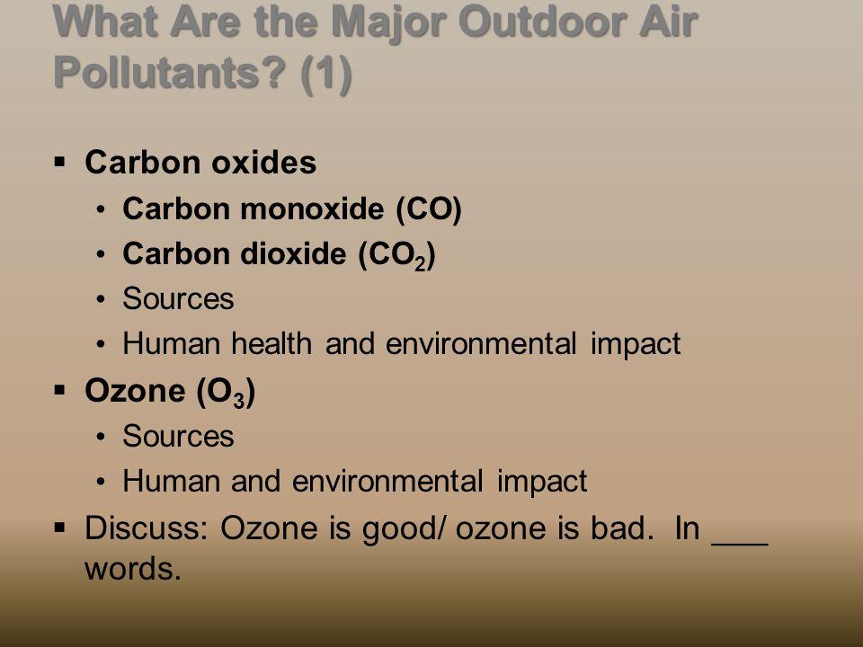 how does carbon monoxide impact human health