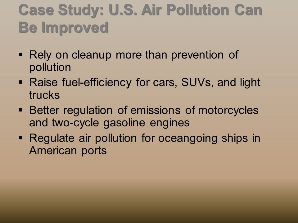 preventing pollution case review Controlling & preventing land pollution related study materials help and review the ngss case studies.