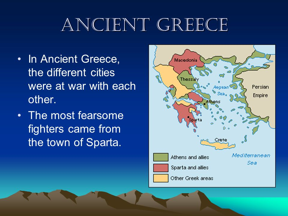 Where Is Greece Sunny Greece Is Miles From England Its - Where is athens