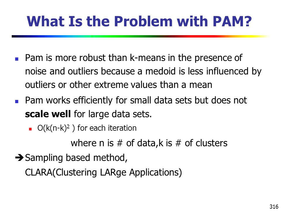 316 What Is the Problem with PAM.