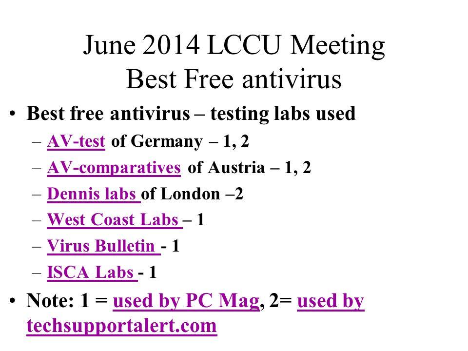 test free antivirus