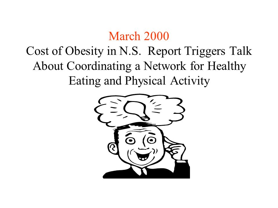 March 2000 Cost of Obesity in N.S.
